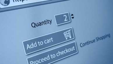 ecommerce website shopping cart