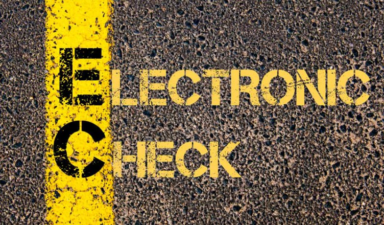electronic check payment options